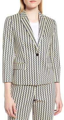BOSS Jerella Heartfish Stretch Cotton Jacket
