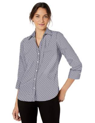 Foxcroft Women's Mary Medallion Wrinkle Free Shirt