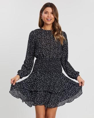 Atmos & Here Sadee Ruffle Mini Dress
