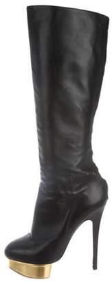 Charlotte Olympia Bonnie Knee-High Boots Black Bonnie Knee-High Boots