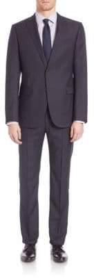 Armani Collezioni Woolen Notched Lapels Suit
