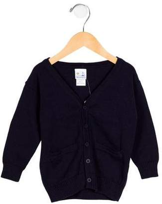 Florence Eiseman Boys' Ebow Patch Button-Up Cardigan w/ Tags