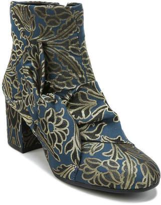 Libby Edelman Womens Veronica Booties Block Heel Zip