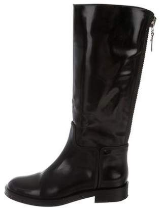 Alejandro Ingelmo Patent Leather Tall Boots
