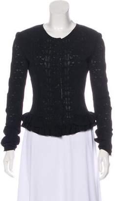 Chanel Pointelle Knit Cardigan