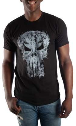 Super Heroes & Villains Marvel Comics Men's Punisher T-shirt, up to Size 3XL