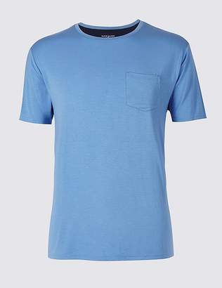 Marks and Spencer Slim Fit Modal Rich Pyjama Top