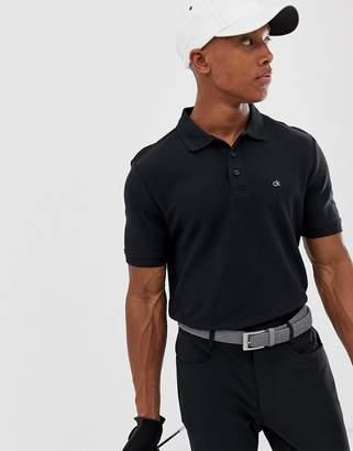8b237b4b Calvin Klein Golf Vmidtown radical polo in black