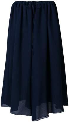 Jil Sander tie waist skirt