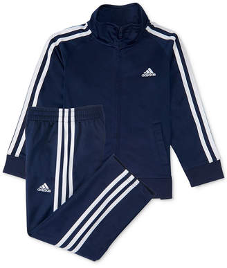adidas Baby Boys 12-24 M 2-Pc. Three-Stripe Track Suit