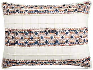 Martha Stewart Collection Closeout! Collection Pleats & Thank You Quilted Standard Sham, Created for Macy's