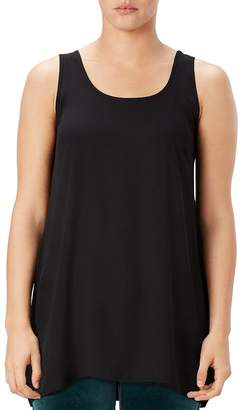 Spanx Perfect Length Top Chiffon Tank