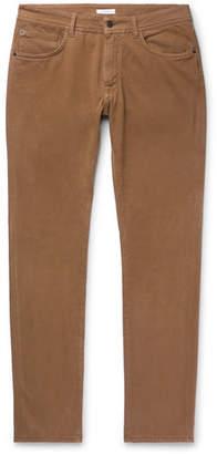 Boglioli Slim-Fit Stretch-Denim Jeans - Tan