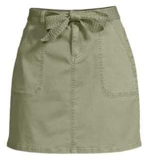 Vineyard Vines Utility Belted Waist Mini Skirt
