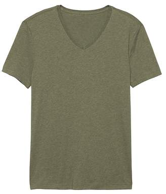 Banana Republic Tech Cotton V-Neck T-Shirt