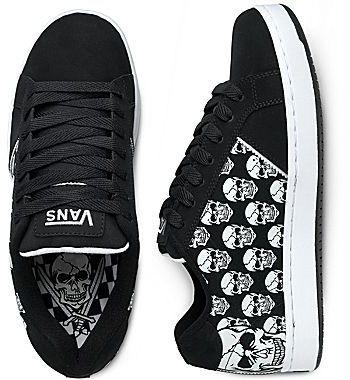 Vans® Widow Skull Skate Shoe
