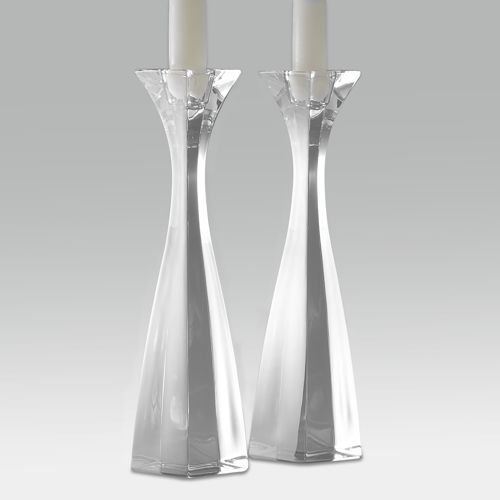 Nambe Cascade Candlesticks