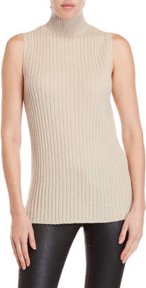 Lafayette 148 New York Ribbed Sleeveless Sweater