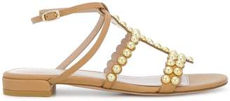 Stuart Weitzman studded strappy sandals
