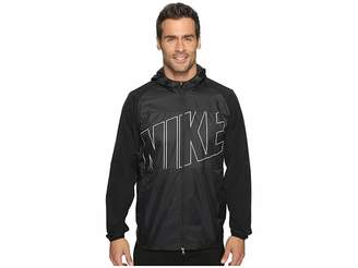 Nike Printed Packable Hooded Jacket Men's Coat