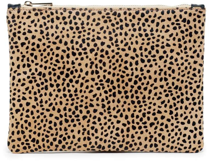 Dolce Leopard Haircalf Pouch