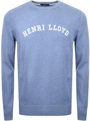 Henri Lloyd Gell Knit Jumper Blue