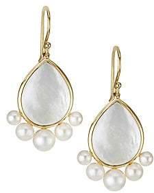 Ippolita Nova 18K Yellow Gold Mother-Of-Pearl Drop Earrings
