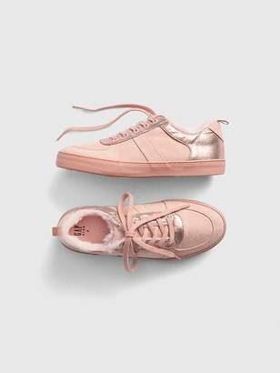 Gap Cozy Metallic Sneakers