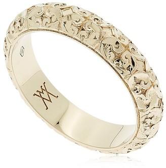 Florentine Gentlemen Wedding Ring
