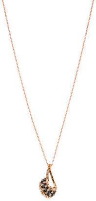 Le Vian 14K Bi-Color Diamond Pendant Necklace $495 thestylecure.com