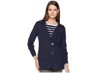 Nic+Zoe Polished Peacoat Jacket