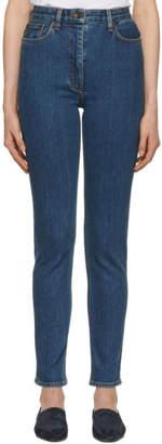 The Row Indigo Kaila Jeans