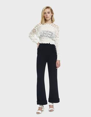 3.1 Phillip Lim Knit Sailor Pant in Navy