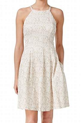 Calvin Klein Women's Halter Neck Fit-and-Flare Dress