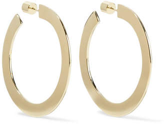 Jennifer Fisher Drew 2 Gold-plated Hoop Earrings