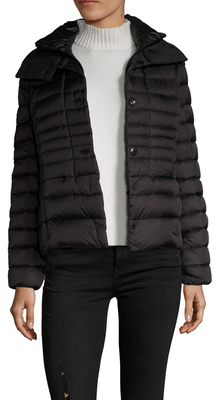 Duvetica Ainslee Stand Collar Puffer Coat