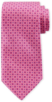 Canali Men's Connected Circles Silk Tie