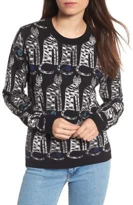 Women's Paul & Joe Sister Intarsia Cat Sweater