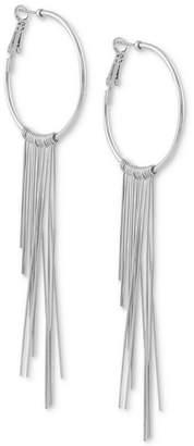 GUESS Graduated Fringe Hoop Earrings