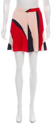Alice + Olivia Pleated Mini Shorts