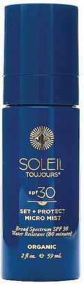 Soleil Toujours Organic Set & Protect Micro Mist SPF 30