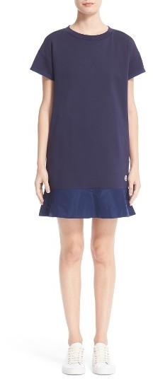 MonclerWomen's Moncler Abito Ruffle Sweatshirt Dress