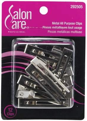 Salon Care All Purpose Metal Clips