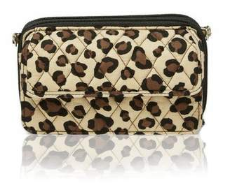 Vera Bradley Leopard All-In-One Crossbody