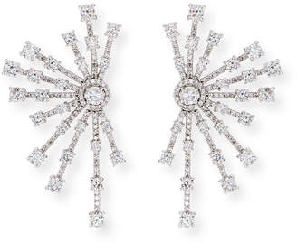 Fallon Monarch Firework Fan Earrings