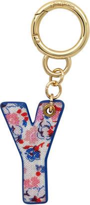 Cath Kidston Mews Ditsy Bag Charm/Key Ring Initial Charm Y
