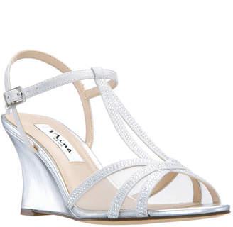 Nina Viveca Wedge Sandals Women Shoes