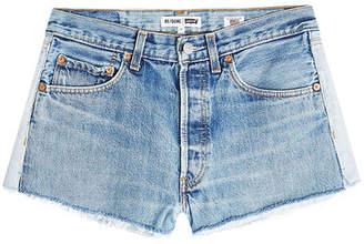 RE/DONE Cut-Off Denim Shorts