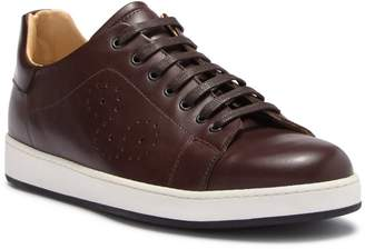 Bugatchi Como Perforated Leather Sneaker