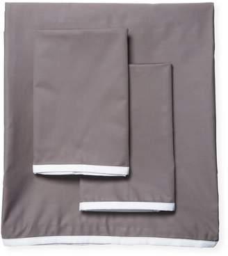 Saks Fifth Avenue Luxe Petite Border Sateen Sheet Set
